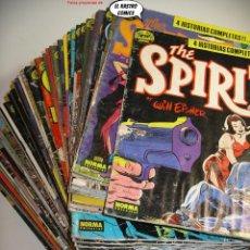 Comics: SPIRIT, Nº 1 AL 76, COLECCION COMPLETA, ED. NORMA, DEFECTOS, LEER ANUNCIO Y FOTOS. Lote 236641825