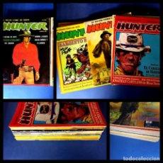 Cómics: 12-HUNTER -EL MEJOR COMIC DEL OESTE-COLECCION COMPLETA. Lote 236741145
