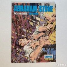Cómics: ABRAHAM STONE: RATAS DE CIUDAD DE JOE KUBERT. NORMA.. Lote 236795805