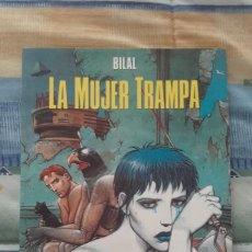 Cómics: X LA MUJER TRAMPA, DE ENKI BILAL (CEC 23. NORMA)(SIN SEPARATA). Lote 236904080