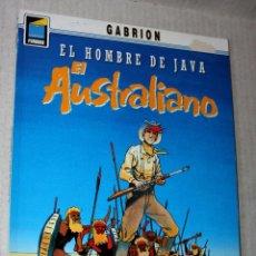 Cómics: EL HOMBRE DE JAVA Nº2: EL AUSTRALIANO. (DE GABRION).COLECCION PANDORA Nº 33.BUEN ESTADO. Lote 236905535