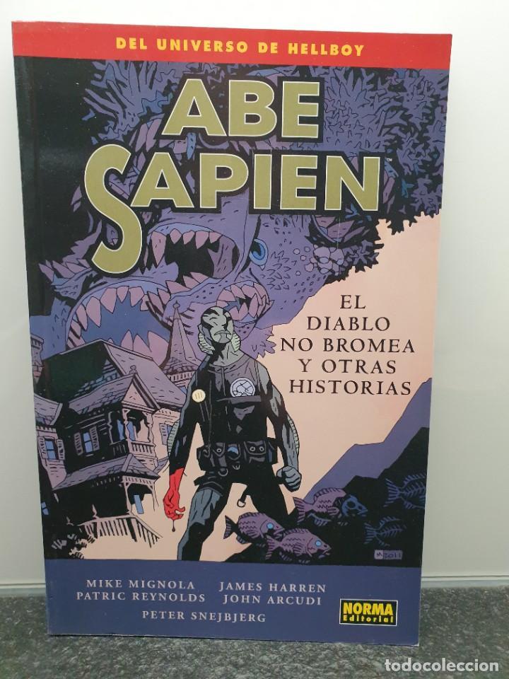ABE SAPIEN 2 - EL DIABLO NO BROMEA Y OTRAS HISTORIAS. MIKE MIGNOLA. UNIVERSO HELLBOY (ENVÍO 2,50€) (Tebeos y Comics - Norma - Comic USA)