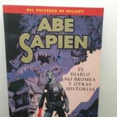 Cómics: ABE SAPIEN 2 - EL DIABLO NO BROMEA Y OTRAS HISTORIAS. MIKE MIGNOLA. UNIVERSO HELLBOY (ENVÍO 2,50€). Lote 236913460