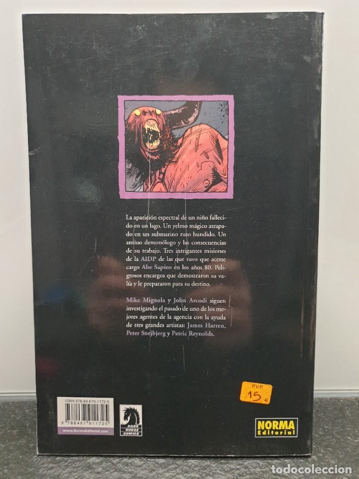 Cómics: Abe Sapien 2 - El Diablo no Bromea y otras Historias. Mike Mignola. Universo Hellboy (Envío 2,50€) - Foto 2 - 236913460