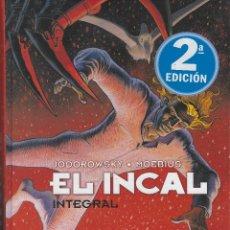 Cómics: MOEBIUS. EL INCAL INTEGRAL. 310 PAGINAS. TAPA DURA . COLOR ORIGINAL. NORMA EDIT. GUION DE JODOROWSKY. Lote 236928340