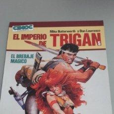 Cómics: X EL IMPERIO DE TRIGAN. EL BREBAJE MAGICO, DE BUTTERWORTH Y LAWRENCE (CEC 5. NORMA). Lote 237081165