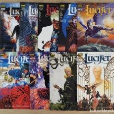 Cómics: LUCIFER - NORMA EDITORIAL / SERIE COMPLETA DE 9 NÚMEROS (COLECCIÓN VÉRTIGO). Lote 238079560