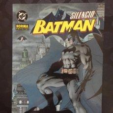 Cómics: BATMAN : SILENCIO N.1 DE JEPH LOEB DC CÓMICS ( 2003 ). Lote 238200915