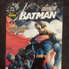 Cómics: BATMAN : SILENCIO N.2 DE JEPH LOEB DC CÓMICS ( 2003 ). Lote 238201445