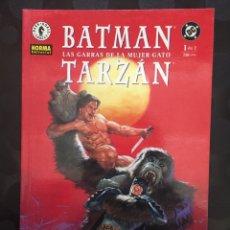 Cómics: BATMAN & TARZAN : LAS GARRAS DE LA MUJER GATO N.1 DC CÓMICS DARK HORSE ( 2000 ). Lote 238230560