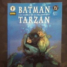 Cómics: BATMAN & TARZAN : LAS GARRAS DE LA MUJER GATO N.2 DC CÓMICS DARK HORSE ( 2000 ). Lote 238231225