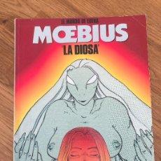 Comics : EL MUNDO DE EDENA / LA DIOSA - MOEBIUS - CIMOC EXTRA COLOR 76-77 - NORMA - GCH. Lote 238371940