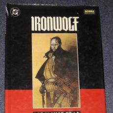 Cómics: IRONWOLF: LAS LLAMAS DE LA REVOLUCIÓN NORMA EDITORIAL TAPA DURA. Lote 33088071
