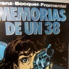 Cómics: MEMORIAS DE UN 38, DE FRANZ, BOCQUET, FROMENTAL. Lote 238504980
