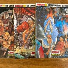 Comics : LOS COMPAÑEROS DEL CREPUSCULO - COMPLETA, 3 TOMOS - CIMOC EXTRA COLOR 60,62,66 - NORMA - GCH. Lote 238578655