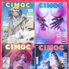 Cómics: CIMOC - LOTE Nº1 DE 4 REVISTAS, NÚMEROS : 136,137,138 Y 139 - ALGÚN DEFECTO, VER DESCRIPCIÓN - PJRB. Lote 238668130