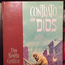 Cómics: CONTRATO CON DIOS Y OTRAS HISTORIAS DE NUEVA YORK, DE WILL EISNER. 1ª EDICIÓN - NORMA EDITORIAL.. Lote 239869645