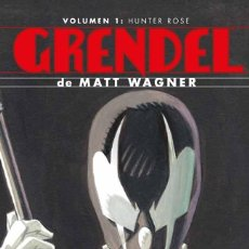 Cómics: MATT WAGNER. GRENDEL. INTEGRAL 1. TAPA DURA. PLANETA. Lote 267579274