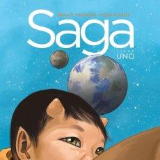 Comics: SAGA INTEGRAL 1. TAPA DURA. PLANETA. BRIAN K. VAUGHAN. Lote 240616205