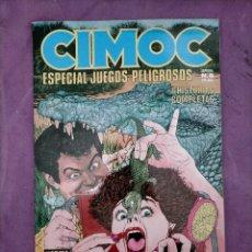 Cómics: CIMOC ESPECIAL JUEGOS PELIGROSOS ESPECIAL N 8 HISTORIAS COMPLETAS NORMA EDITORIAL. Lote 240733100