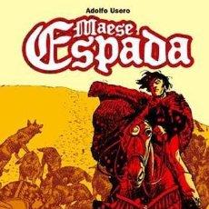 Cómics: ADOLFO USERO. MAESE ESPADA. 60 PAGINAS. GLENAT TAPA DURA. Lote 262957995