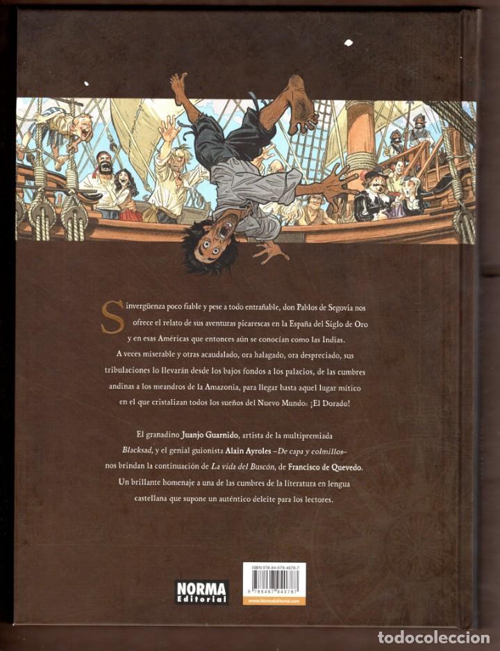 Cómics: EL BUSCON EN LAS INDIAS - NORMA / TAPA DURA / NUEVO DE EDITORIAL - Foto 2 - 258165795