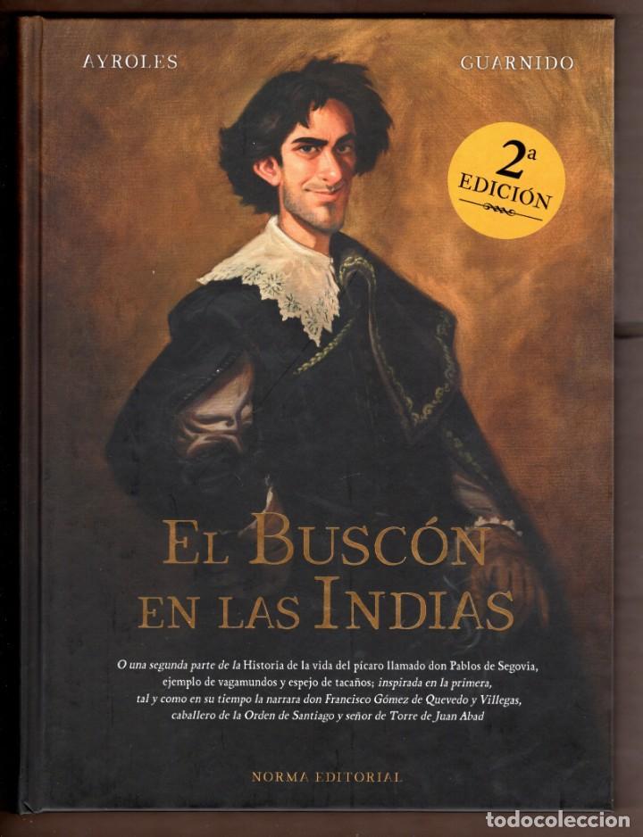 EL BUSCON EN LAS INDIAS - NORMA / TAPA DURA / NUEVO DE EDITORIAL (Tebeos y Comics - Norma - Comic Europeo)