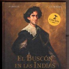 Cómics: EL BUSCON EN LAS INDIAS - NORMA / TAPA DURA / NUEVO DE EDITORIAL. Lote 220602157