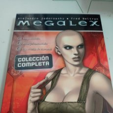 Cómics: X MEGALEX 1 A 3 (COMPLETA EN ESTUCHE), DE JODOROWSKY Y BELTRAN (NORMA). Lote 241014945