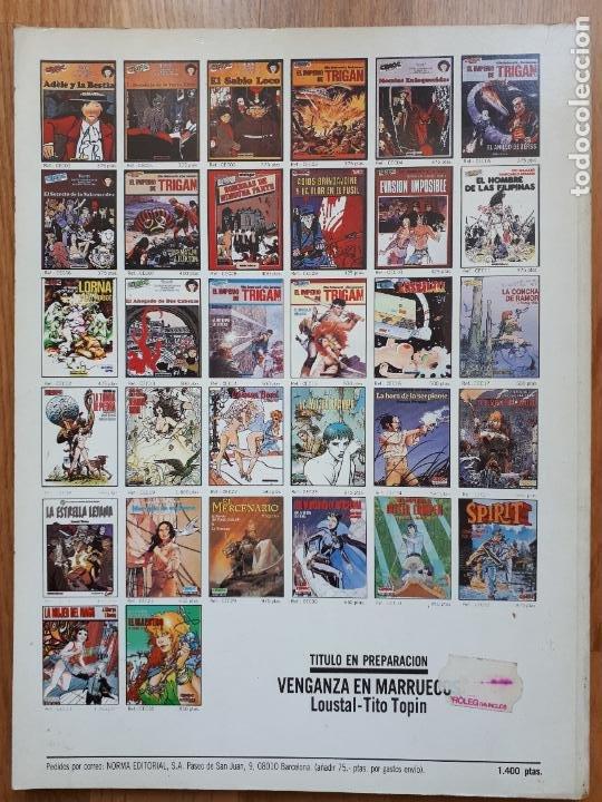 Cómics: Las Falanges del Orden Negro - Pierre Christin y Enki Bilal - Norma - Extra Color Nº 36 - 1988 - Foto 2 - 241386540