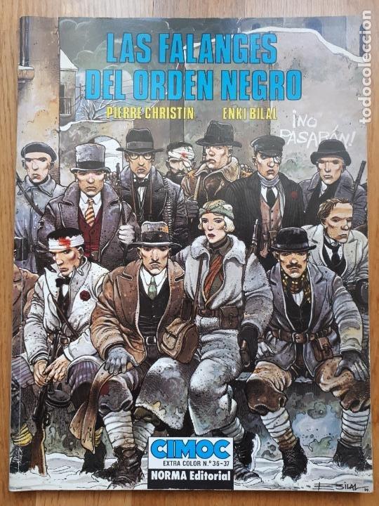LAS FALANGES DEL ORDEN NEGRO - PIERRE CHRISTIN Y ENKI BILAL - NORMA - EXTRA COLOR Nº 36 - 1988 (Tebeos y Comics - Norma - Cimoc)