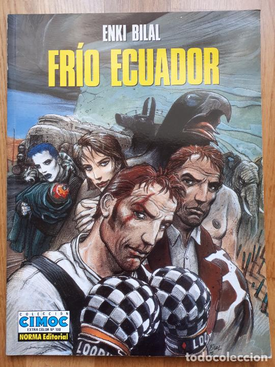FRÍO ECUADOR - ENKI BILAL - NORMA - EXTRA COLOR Nº 100 - 1993 (Tebeos y Comics - Norma - Cimoc)