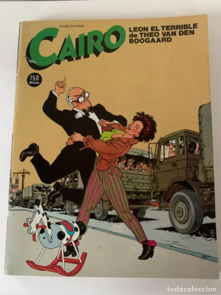 REVISTA CAIRO, NORMA EDITORIAL (Tebeos y Comics - Norma - Cairo)