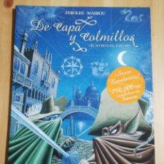 Cómics: DE CAPA Y COLMILLOS Nº 1 EL SECRETO DEL JENIZARO (ALAIN AYROLES / JEAN-LUC MASBOU). Lote 242013305
