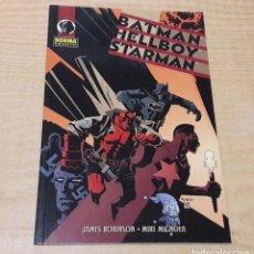 Cómics: BATMAN HELLBOY STARMAN. JAMES ROBINSON/MIKE MIGNOLA.. Lote 242332805