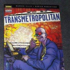 Comics: TRANSMETROPOLITAN Nº 2 VERTIGO NORMA EDITORIAL WARREN ELLIS. Lote 242970585