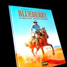 Cómics: DE KIOSCO BLUEBERRY 1 LA MINA DEL ALEMAN PERDIDO NORMA EDITORIAL CHARLIER - GIRAUD. Lote 243554455