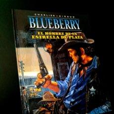 Cómics: EXCELENTE ESTADO BLUEBERRY 23 EL HOMBRE DE LA ESTRELLA DE PLATA NORMA EDITORIAL CHARLIER - GIRAUD. Lote 243562225