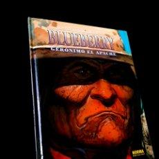 Cómics: EXCELENTE ESTADO BLUEBERRY 38 GERONIMO EL APACHE NORMA EDITORIAL CHARLIER - GIRAUD. Lote 243563420