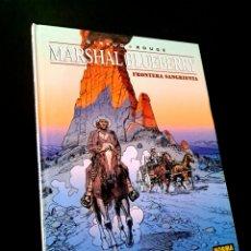 Cómics: EXCELENTE ESTADO MARSHAL BLUEBERRY FRONTERA SANGRIENTA NORMA EDITORIAL CHARLIER - GIRAUD. Lote 243563815