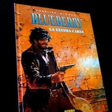 Cómics: EXCELENTE ESTADO BLUEBERRY 24 LA ULTIMA CARTA NORMA EDITORIAL CHARLIER - GIRAUD. Lote 243564155