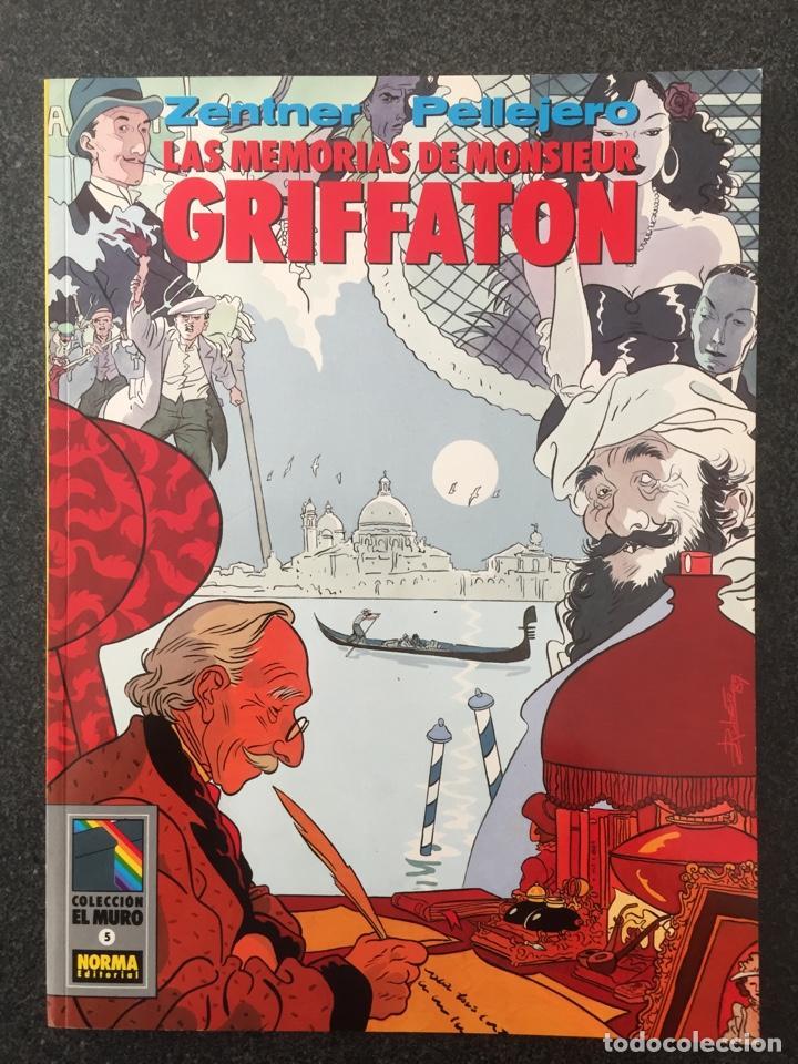 LAS MEMORIAS DE MONSIEUR GRIFFATON - COL. EL MURO Nº 5 - 1ª EDICION - NORMA - 1990 - ¡NUEVO! (Tebeos y Comics - Norma - Comic Europeo)
