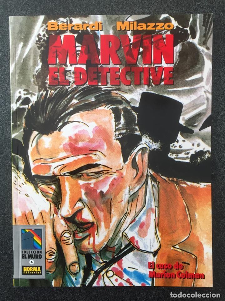 MARVIN EL DETECTIVE - BERARDI / MILAZZO - COL. EL MURO Nº 6 - 1ª EDICION - NORMA - 1990 - ¡NUEVO! (Tebeos y Comics - Norma - Comic Europeo)