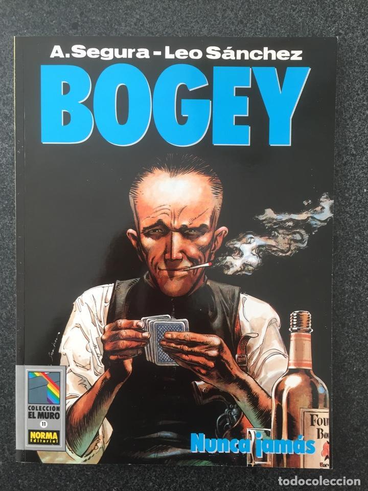 BOGEY - NUNCA JAMAS - COL. EL MURO Nº 11 - 1ª EDICION - NORMA - 1991 - ¡NUEVO! (Tebeos y Comics - Norma - Comic Europeo)