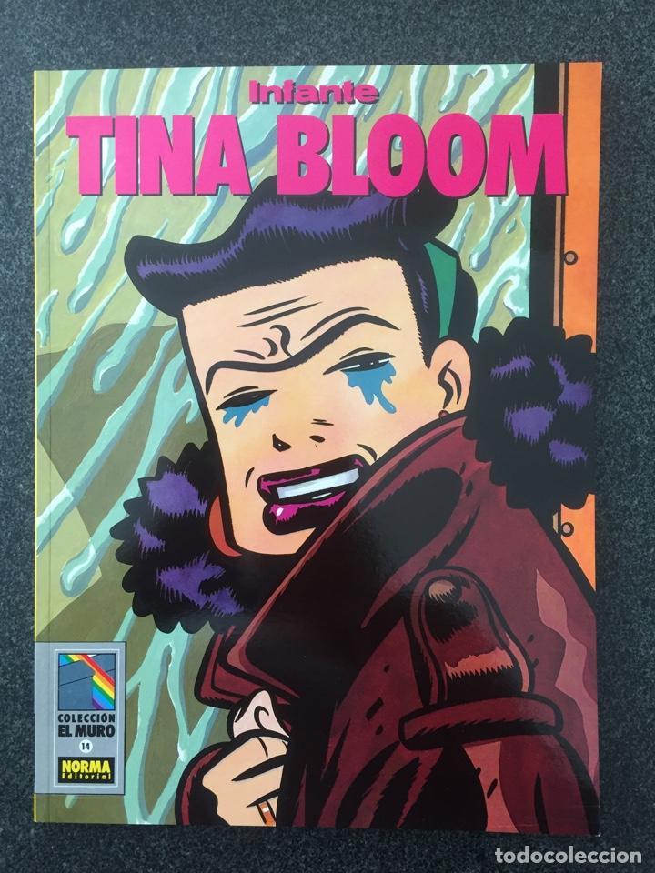 TINA BLOOM - NAUFRAGIOS - INFANTE - COL. EL MURO Nº 14 - 1ª EDICION - NORMA - 1991 - ¡NUEVO! (Tebeos y Comics - Norma - Comic Europeo)