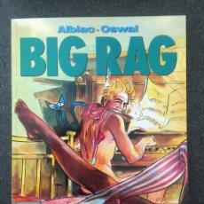 Cómics: BIG RAG - ALBIAC / OSWAL - COL. EL MURO Nº 16 - 1ª EDICION - NORMA - 1991 - ¡NUEVO!. Lote 243614660