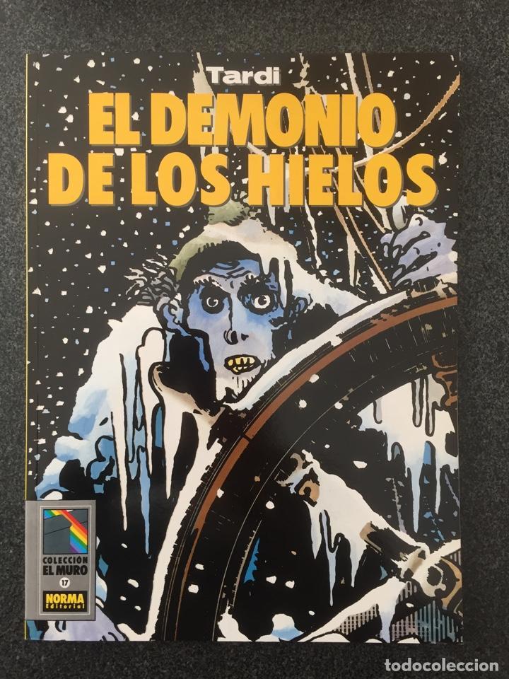 EL DEMONIO DE LOS HIELOS - TARDI - COL. EL MURO Nº 17 - 1ª EDICION - NORMA - 1991 - ¡NUEVO! (Tebeos y Comics - Norma - Comic Europeo)