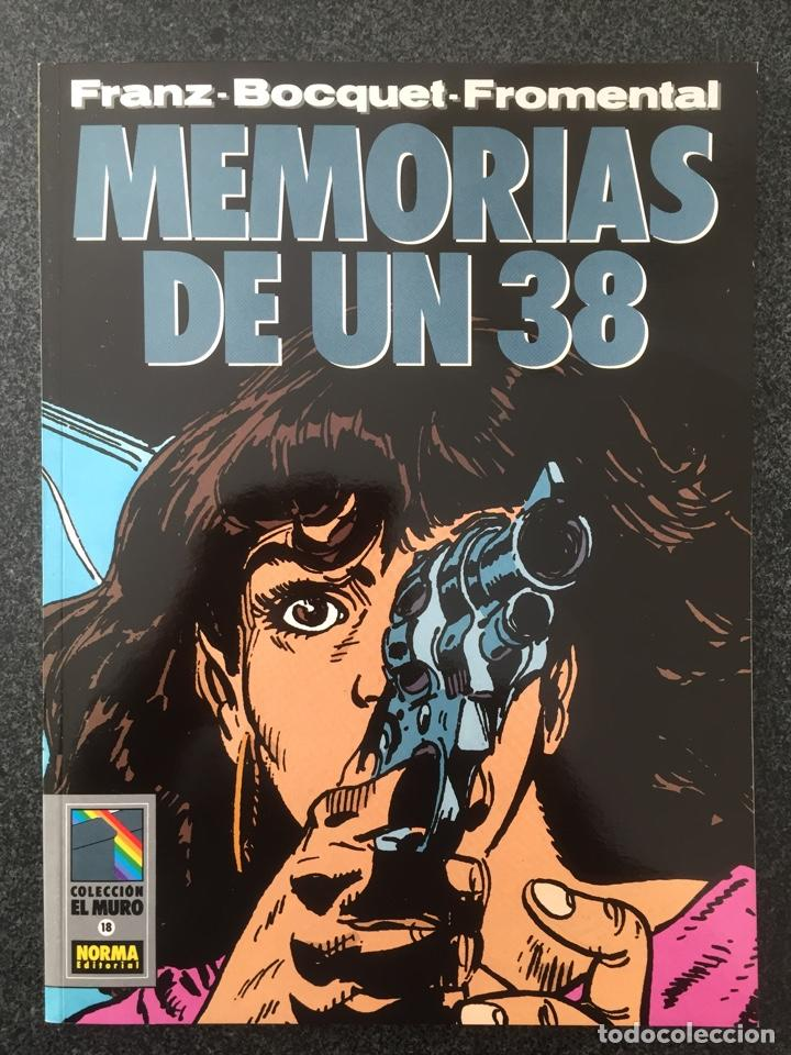 MEMORIAS DE UN 38 - COL. EL MURO Nº 18 - 1ª EDICION - NORMA - 1991 - ¡NUEVO! (Tebeos y Comics - Norma - Comic Europeo)