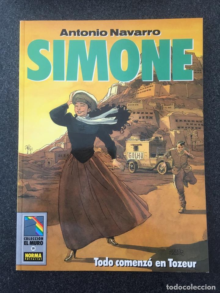 SIMONE - ANTONIO NAVARRO - COL. EL MURO Nº 19 - 1ª EDICION - NORMA - 1991 - ¡NUEVO! (Tebeos y Comics - Norma - Comic Europeo)