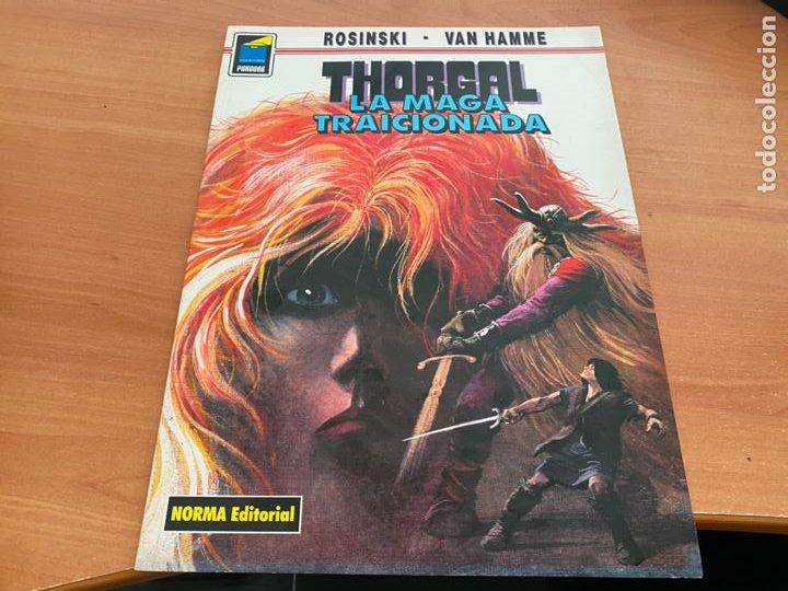 THORGAL LA MAGA TRAICIONADA COLECCION PANDORA Nº 41 (COIB193) (Tebeos y Comics - Norma - Comic Europeo)